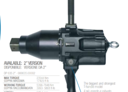 "Pnevmatska Pištola Paoli-DP 635, 2 ½ "" , 26400 Nm"