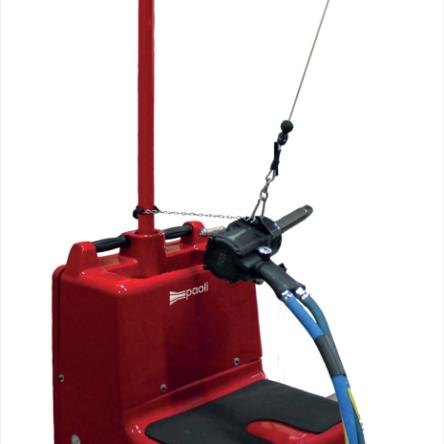 Montažni voziček s sedežom Paoli- New suspension