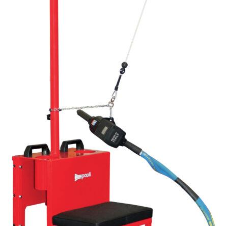Montažni voziček s sedežom Paoli- Iron suspension