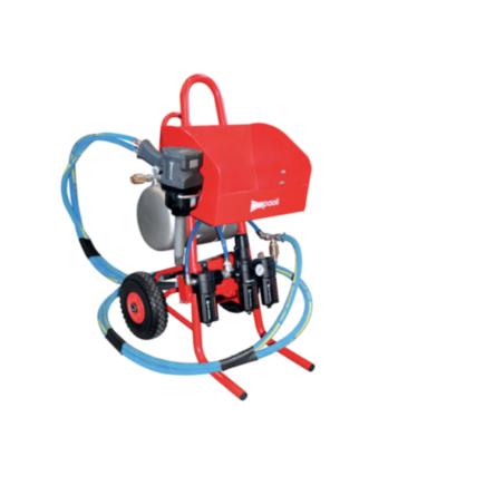 Montažni voziček s tankom za zrak Paoli- Mobile working unit